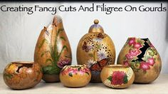 DIY How to Power Carve a Gourd: Step by Step Seashell Gourd Project - YouTube