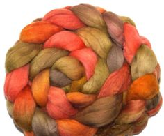 Namibia  Hand painted Merino roving top 23.mic. fibre fiber spin or felt  by YummyYarnsUK, £11.50