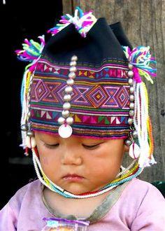 Akha Baby - Shan State, Burma