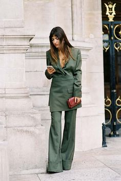 Patricia Manfield of The Atelier , after Stella McCartney, Paris, October Fashion Weeks, Fashion Outfits, Street Style Edgy, Street Chic, Paris Street, Passion For Fashion, Love Fashion, Fashion Models, Feminine Tomboy