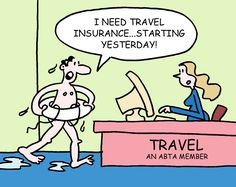 It is ameliorate to be prepared for all kinds of circumstances, because time never comes back and you might end up like this one. #Tripinsurance #Tripcancellation
