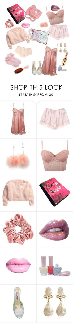 """""""Stupid girls."""" by iheartdropdeadkatie ❤ liked on Polyvore featuring Odd Molly, Yves Saint Laurent, Forever 21, H&M, Retrò, Paul & Joe, Bounkit, Mason Pearson and vintage"""