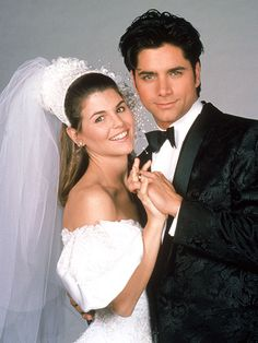 """He was funny: 21 Times You Fell In Love With Uncle Jesse From """"Full House"""" Jesse From Full House, Becky Full House, Full House Cast, Full House Tv Show, Celebrity Wedding Photos, Cute Celebrity Couples, Celebrity Weddings, Celebrity News, Full House Characters"""