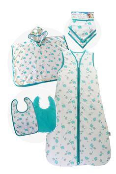 Slumbersac Toddler Sleeping Bag 2.5 Tog Simply Blue Elephants 18-36 Months