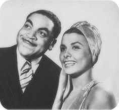 Fats Waller and Lena Horne A still from the movie Stormy Weather. Look at their eyes all starry and His, full of mischief! ~ Kai