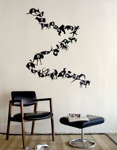 26 movable animal decals from A to Z. Based on the Threadless t-shirt design Alphabet Zoo by Sara Lee. All BLIK decals are removable, but Re-Stik decals are the only ones that are reusable. See the wo