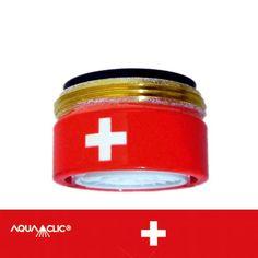 Spart bis zu 50% Wasser und Energie am Wasserhahn: AquaClic MINI Gruezi aus Messing. Gesehen für € 19,95 bei kloundco.de.