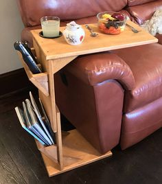 Gifts For Dad Couch Tray Table Tv Dinner Armrest Arm Wrap Sofa