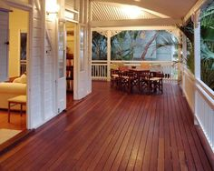 Queenslander Design, Pictures, Remodel, Decor and Ideas - page 3 Cabana, Outdoor Rooms, Outdoor Living, Indoor Outdoor, Queenslander House, Weatherboard House, Beach Cottage Style, House With Porch, Australian Homes