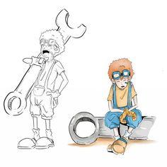 Amoru . mechanican character