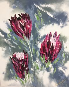Queen Protea New Art, Queen, Painting, Painting Art, Paintings, Painted Canvas, Drawings