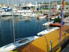 Prepare to race Porto San Giorgio
