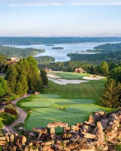 Experience iconic views of the Ozarks from every hole at Big Cedar Golf. Famous Golf Courses, Public Golf Courses, Big Cedar Lodge Branson, Coeur D Alene Resort, Golf Holidays, Golf Course Reviews, Golf Photography, Golf Humor, Celebrity Travel