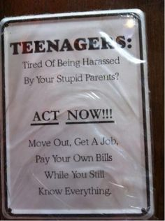 Teenagers - funny pictures - funny photos - funny images - funny pics - funny quotes - #lol #humor #funny