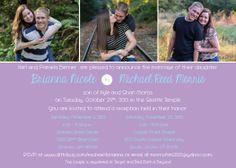 Dittobug Wedding Invitations. Photo wedding invitation. www.dittobug.com