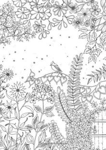 Forest Coloring Book | AdultcoloringbookZ Enchanted Forest Book, Enchanted Forest Coloring Book, Magical Forest, Adult Coloring, Coloring Books, Forest Coloring Pages, Woodland Creatures, Fantasy Landscape, Patterns In Nature
