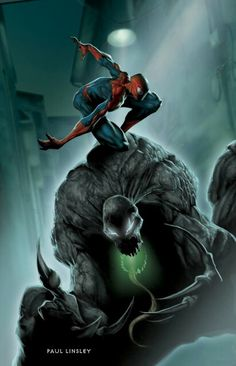 Venom vs Spider-Man