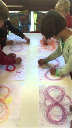 Schrijfdans: een vlinder voor koekenbloemendag Flower Cookies, Learn To Paint, Art Plastique, Preschool Crafts, Art Education, Art For Kids, Homeschool, About Me Blog, Butterfly