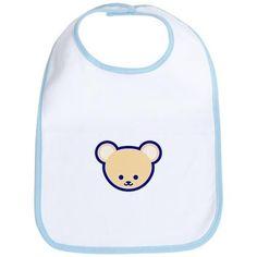 d8e1ddda Cute Teddy Bear Cartoon Bib on CafePress.com Teddy Bear Cartoon, Cute Teddy  Bears