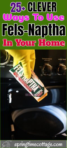 Fels Naptha is a block of powerful bar soap. It is very effective for cleaning all sorts of stains and it is economical as well. Here are some useful ways you can use Fels Naptha in your home. Diy Cleaning Products, Cleaning Hacks, Fels Naptha, Home Cleaning Remedies, Cleaning Paint Brushes, Clean Refrigerator, Homemade Detergent, Sticky Labels, Mold And Mildew