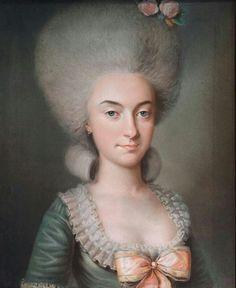 Marie-Antoinette de La Ferté, Comtesse de Marcy.
