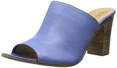 Bella Vita Arno W Zehenöffnung Pantoletten, Blau - Blau - LT Blue - Größe: 39 1/3 - http://on-line-kaufen.de/bella-vita/39-1-3-bella-vita-arno-w-zehenoeffnung-pantoletten