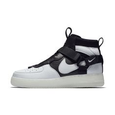 timeless design 545ef 1082c Nike Air Force 1 Utility Mid Men s Shoe Size 12.5 (Off White)