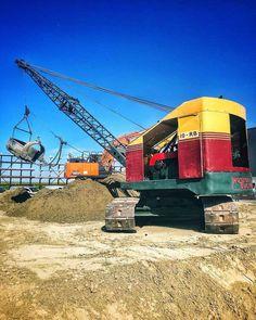 Crawler Crane, Shovel, Construction, Earth, Big, Building, Dustpan, Mother Goddess, World
