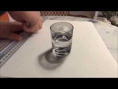 Como Desenhar Um Copo - Super Realista e Profissional