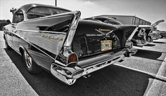 1957 chevy bel air.
