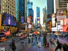 Scatti e Bagagli: 7 giorni a New York, la città che non dorme mai! Times Square