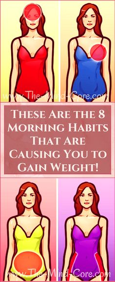 Ladies, Here Are 8 Morning Habits That Are Causing You to Gain Weight (You MUST Avoid Them!) Ladies, you probably already know that eating healthy and moving more are the keys to a successful weight loss. YES, but those aren't … Read Health And Nutrition, Health And Wellness, Health And Beauty, Wellness Tips, Beauty Skin, Health And Fitness Articles, Health Fitness, Women's Fitness, Sport Motivation