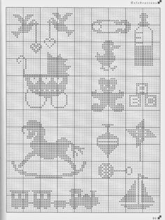 Cross Stitch: mini motivos