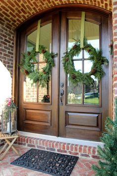 Easy DIY Christmas Wreath From Garland