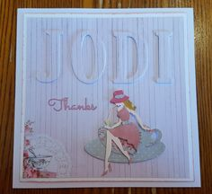 Another ECLIPSE card... made for my beautiful daughter in law, Jodi.