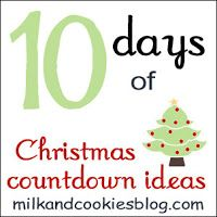 Christmas Countdown Ideas: Day 2 | Milk and Cookies