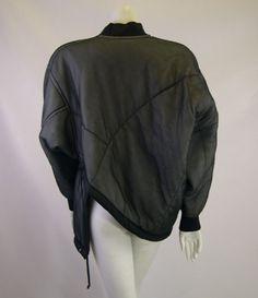 1990 Comme des Garcons Deconstructed Bomber Jacket