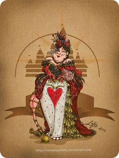 QUEEN OF HEARTS, ALICE IN WONDERLAND This Is What It Looks Like When Disney Characters Get Steampunk Makeovers