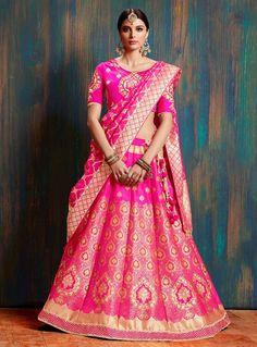 Sabyasachi Lehenga Bridal, Pink Bridal Lehenga, Indian Wedding Lehenga, Bridal Lehenga Online, Banarasi Lehenga, Lehenga Skirt, Pink Lehenga, Lehenga Choli Online, Ghagra Choli