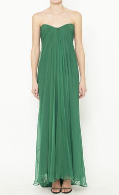 Alexander McQueen Green Dress | VAUNTE