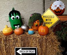 pumpkin decorating ideas   Creative Pumpkin Decorating Ideas 2012   Crafty Halloween