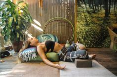 Restorative Yoga to Relax & Reconnect - Pin now, read later!