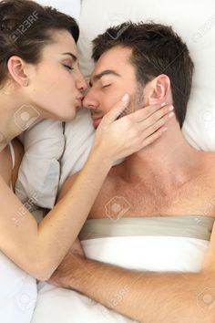 Lovely Bedroom and lovely couple