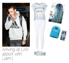 """""""Arriving at LAX airport with Liam :D"""" by directioner-dxi ❤ liked on Polyvore featuring art, liam and payne"""