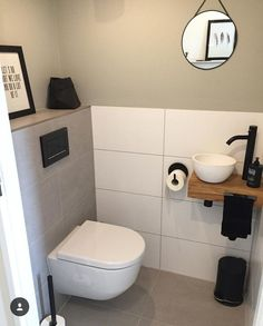 - View 31 inspiring examples of a toilet - ., Toilet - View 31 inspiring examples of a toilet - ., Toilet - View 31 inspiring examples of a toilet - . Small Bathroom Storage, Bathroom Design Small, Bathroom Styling, Serene Bathroom, Bathroom Interior, Bathroom Ideas, Small Toilet Room, Guest Toilet, Cottage Style Bathrooms