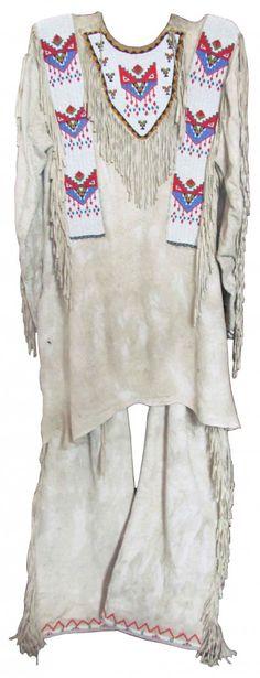Native American War Shirt & Leggings