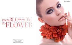 jewelry flower beauty edititoral | FROM BLOSSOM TO FLOWER