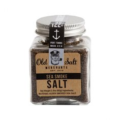 Sea Smoke Salt - I'd love to have one of these Old Salt Merchant salts on my popcorn!