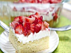 If you love strawberry shortcake as much as I do then you are going to love this cheesecake ish twist The homemade velvety butter cake is the perfect base...