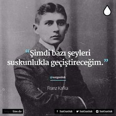 Her zaman olduğu gibi. Kafka Quotes, Poem Quotes, Best Quotes, Most Beautiful Words, Poems Beautiful, Philosophical Words, Before I Sleep, Good Sentences, Book Of Life